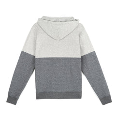 amongst few - Colour Block Hoodie (Heather/Charcoal)