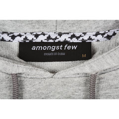 amongst few - Less Is More Hoodie (Grey)