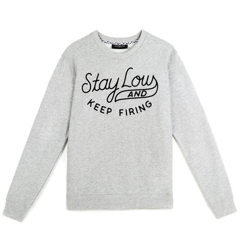 amongst few - Stay Low Sweater (Grey)