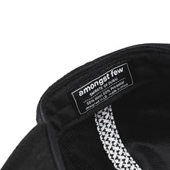 amongst few - Stay Low Snapback (Black)