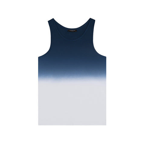 amongst few - Fade To Blanc Tank (Blue)