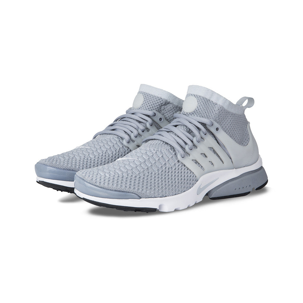 huge selection of 4eca2 d4067 Nike - Air Presto Flyknit Ultra (Wolf Grey Pr Pltnm-White-Blk) – amongst few