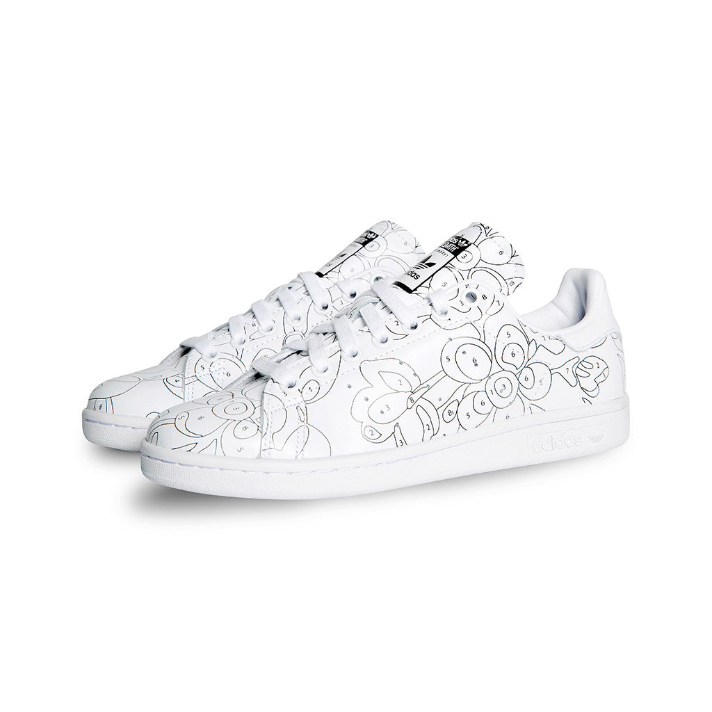 adidas Originals - Stan Smith RO W (White/White/Black)