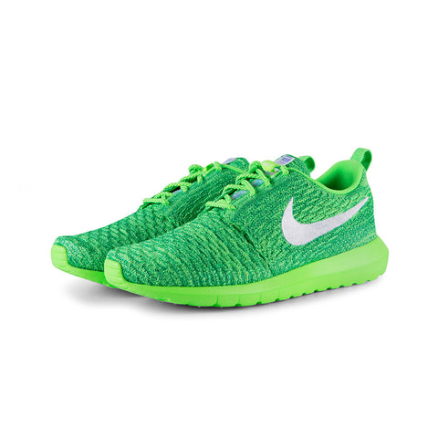 f57685b11bc5 Sale Nike - Roshe NM Flyknit (Voltage Green White-LCD Green)