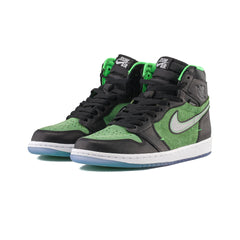 Air Jordan 1 Hi Zoom Air (Black/Black-Tomatillo)