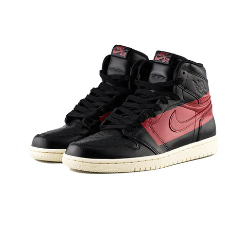 Air Jordan 1 High OG Defiant (Black/Gym Red-Muslin)
