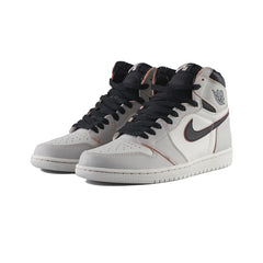 Air Jordan 1 High OG Defiant (Light Bone/Black-Crimson Tint)
