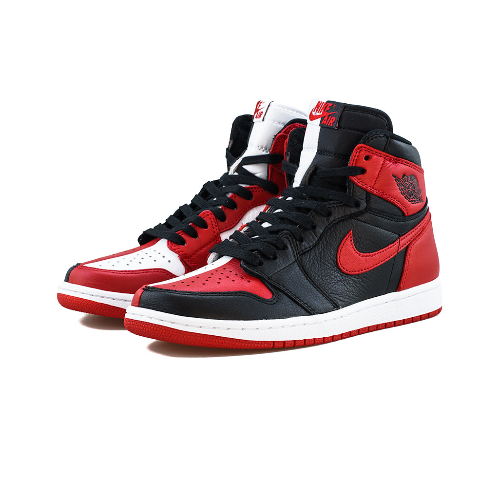 f2dc25447831ef Air Jordan 1 Retro High OG NRG  Homage to Home  (Black University Red- – amongst  few