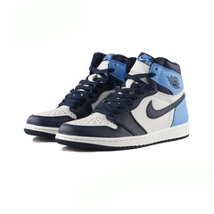 Air Jordan 1 Retro High OG (Sail/Obsidian-University Blue)