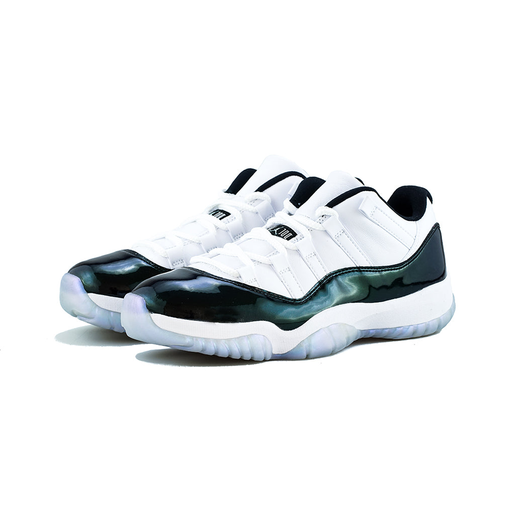 939f5af1bf63ed Air Jordan 11 Retro Low (White Black-Emerald Rise) – amongst few