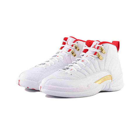 Air Jordan 12 Retro (White/University Red)