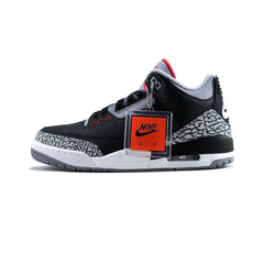 Air Jordan 3 Retro OG (Black/Fire Red-Cement Grey)