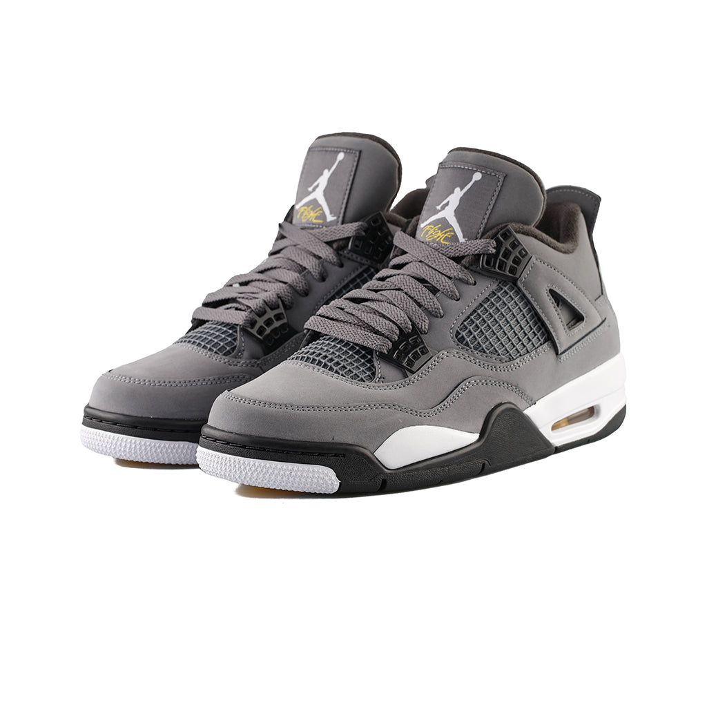 sports shoes bf939 70bcb Air Jordan 4 Retro (Cool Grey/Chrome-Dark Charcoal)