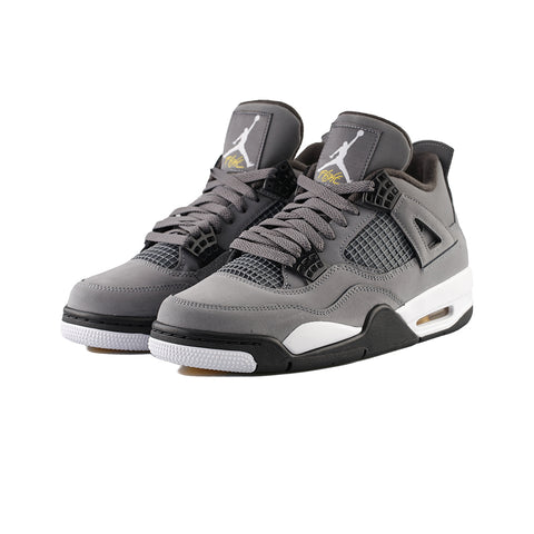 Air Jordan 4 Retro (Cool Grey/Chrome-Dark Charcoal)