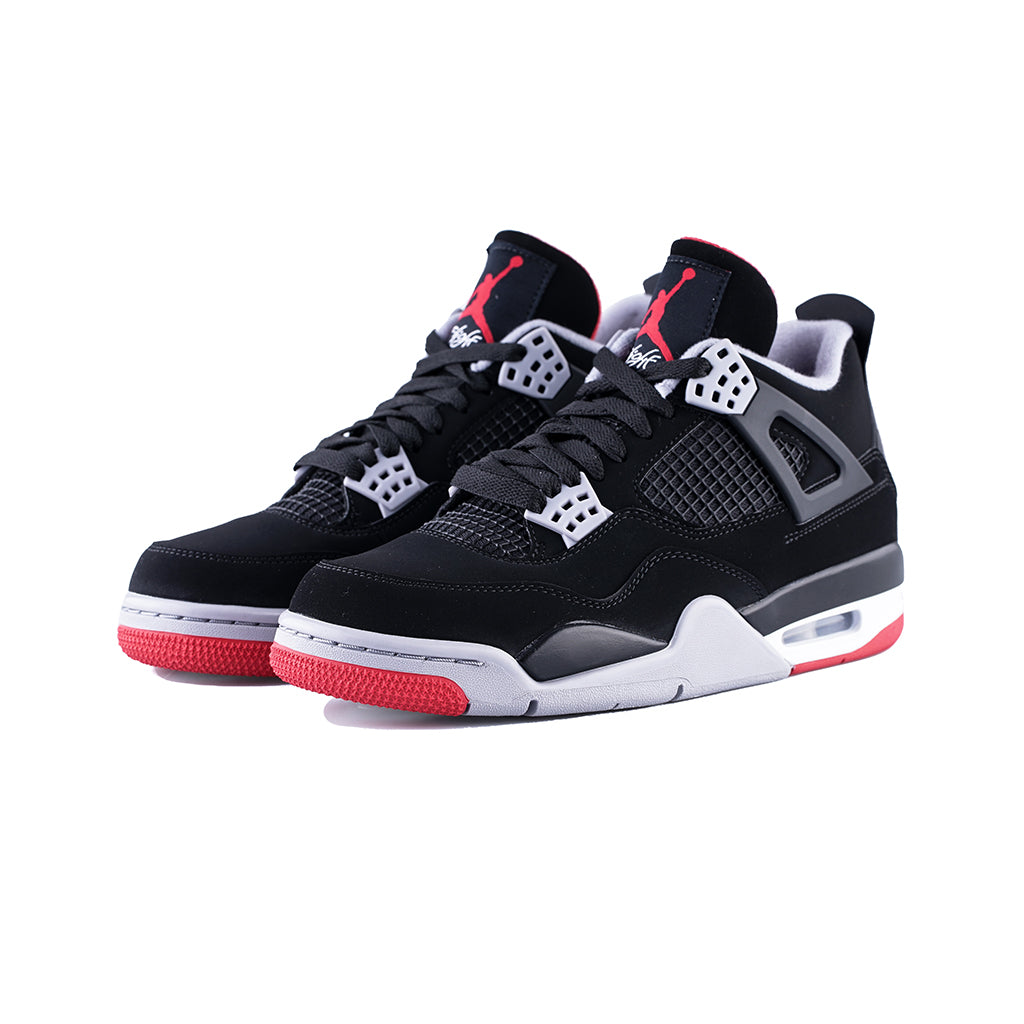2fa0789261 Air Jordan 4 Retro (Black/Fire Red-Cement Grey) – amongst few