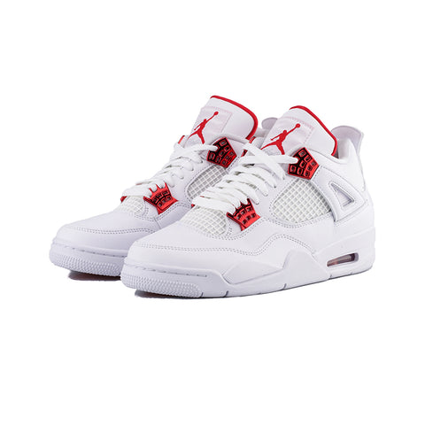 Air Jordan 4 Retro (White/University Red)