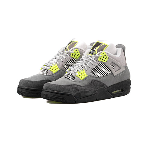 Air Jordan 4 Retro SE (Cool Grey/Volt-Wolf Grey)