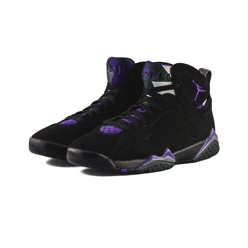 low priced a3047 a94bb Air Jordan 7 Retro (Black/Field Purple-Fir)