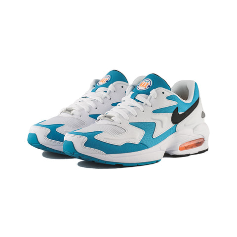 Nike - Air Max2 Light (White/Black-Blue Lagoon)