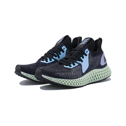 adidas - Alphaedge 4D (Core Black/Glory Blue/Collegiate Purple)