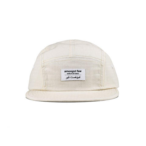 amongst few - Classic 5 Panel Cap (Beige)