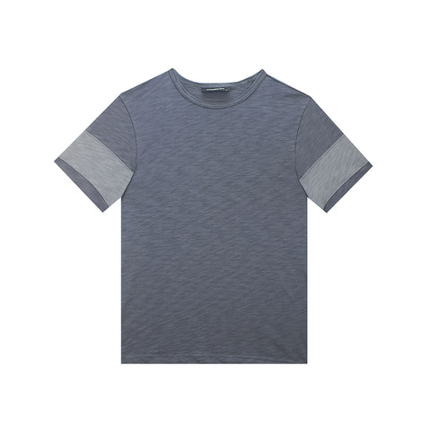 amongst few - Cut & Sew T-Shirt (Grey)