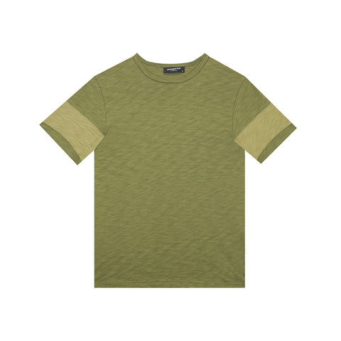amongst few - Cut & Sew T-Shirt (Olive)