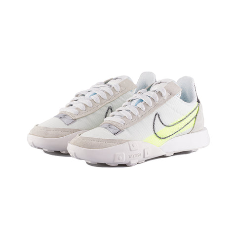 Nike - W Waffle Racer 2X (Summit White/Black-Volt-Chrome)