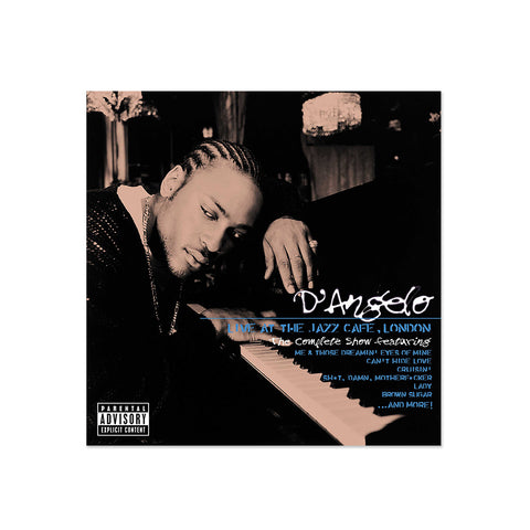 D'Angelo - LIVE At The Jazz Cafe, London (LP)