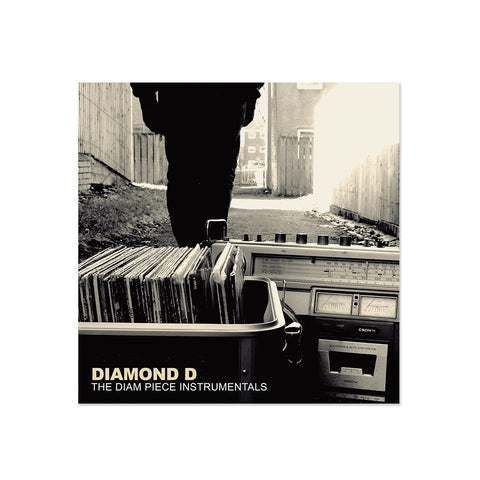 Diamond D - The Diam Piece Instrumentals (LP)