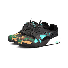 PUMA - Disc Blaze Night Jungle x Atmos (Black/Electric-Green)