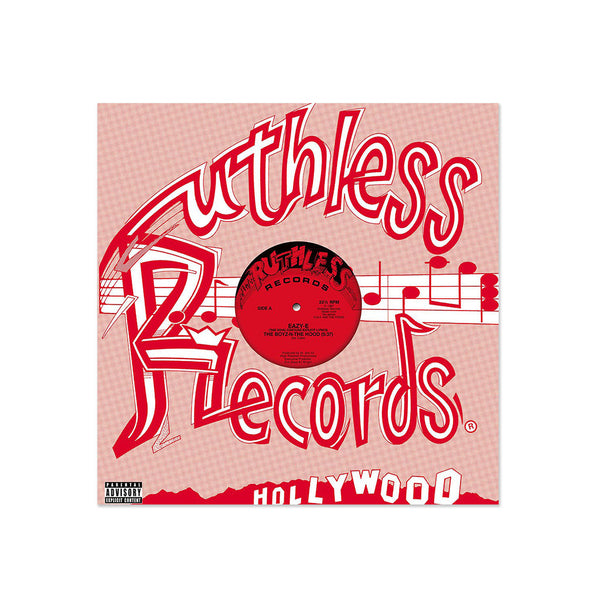 Eazy-E - Ruthless Records The Boyz-N-The Hood (LP)