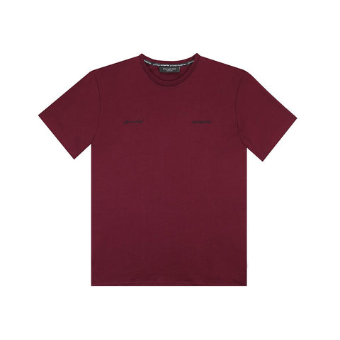 amongst few - English / Arabic Pima T-Shirt (Maroon)