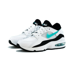 Nike - WMNS Air Max 93 (White/Sport Turq-Black)