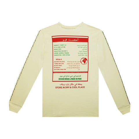 amongst few - General Trading Long Sleeve T-Shirt (Beige)