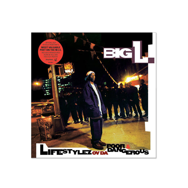 Big L - Lifestylez Ov Da Poor & Dangerous (LP)