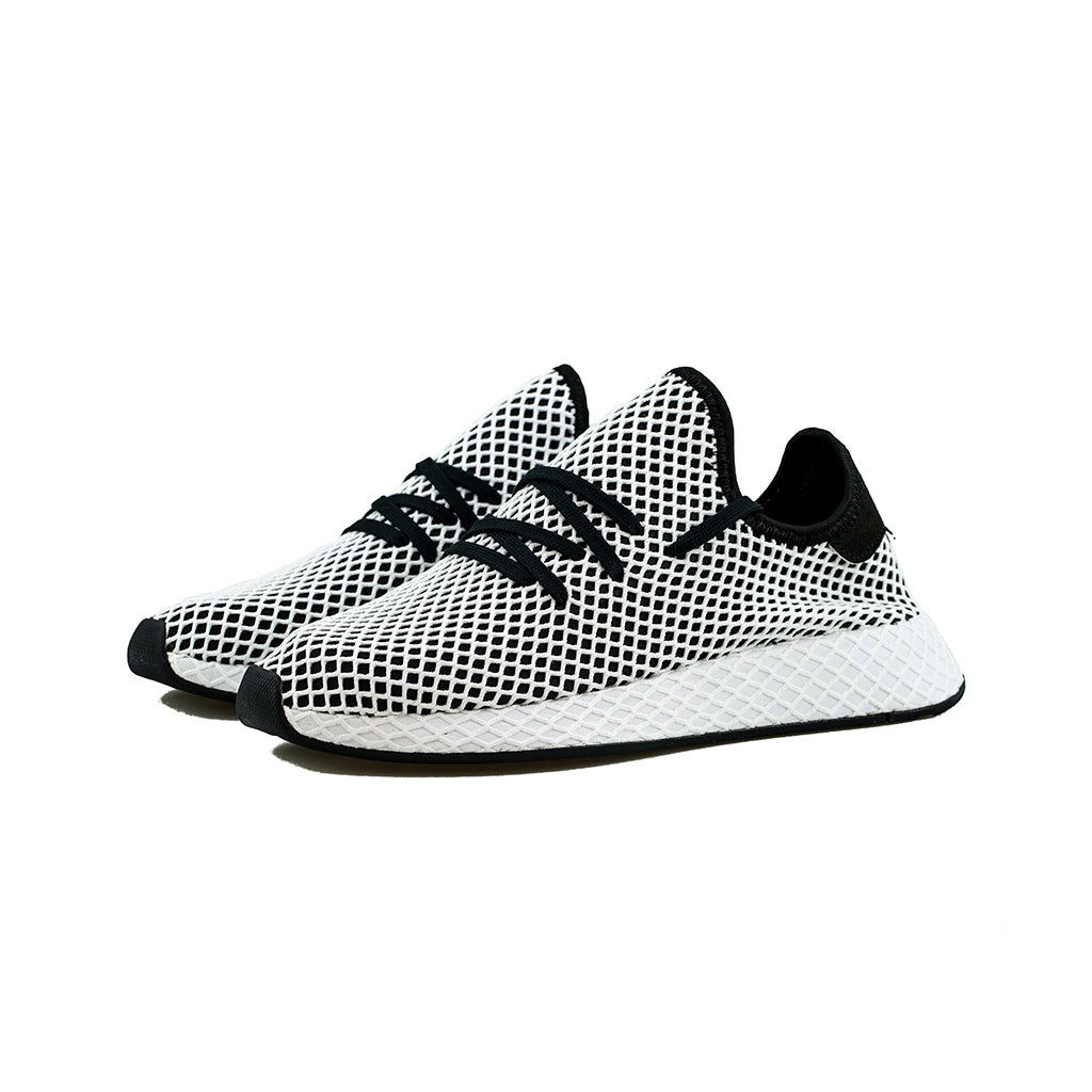 new concept 4598f 341de adidas Originals - Deerupt Runner (Core BlackCloud White)