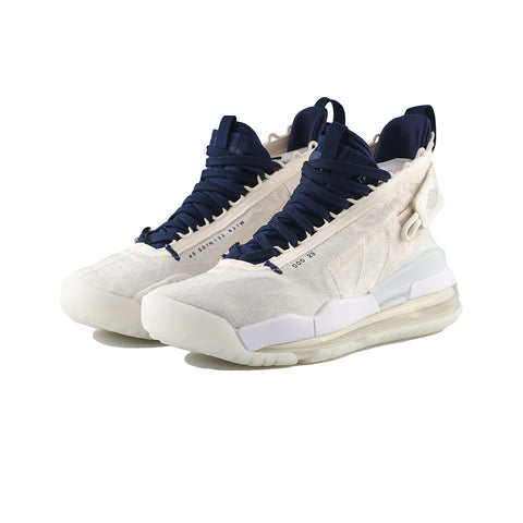 Jordan Proto Air Max 720 (Pale Ivory/Midnight Navy-White)