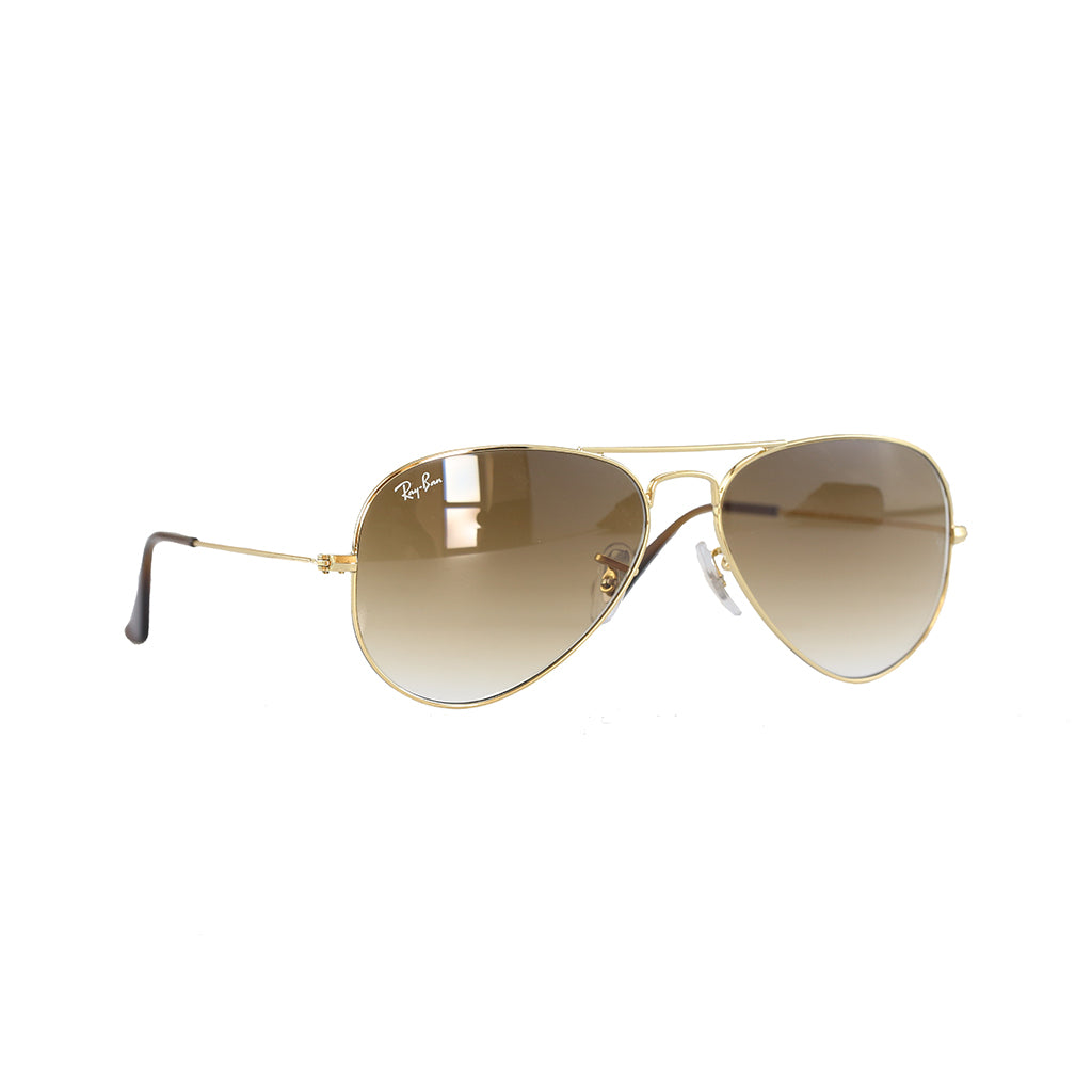 Ray-Ban - Aviator Classic (Gold Light Brown Gratient) – amongst few dc2c9cbacfb