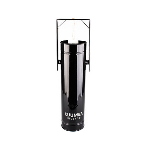 Kuumba - Jumbo Metal Can Incense Burner (Black)