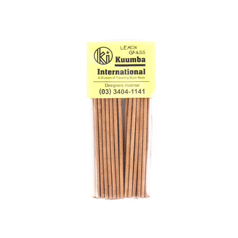 Kuumba - Mini Incense (Lemon Grass)
