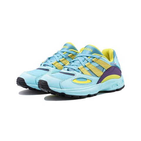 adidas Originals - LXCON 94 (Clear Aqua/Light Aqua/Shock Yellow)