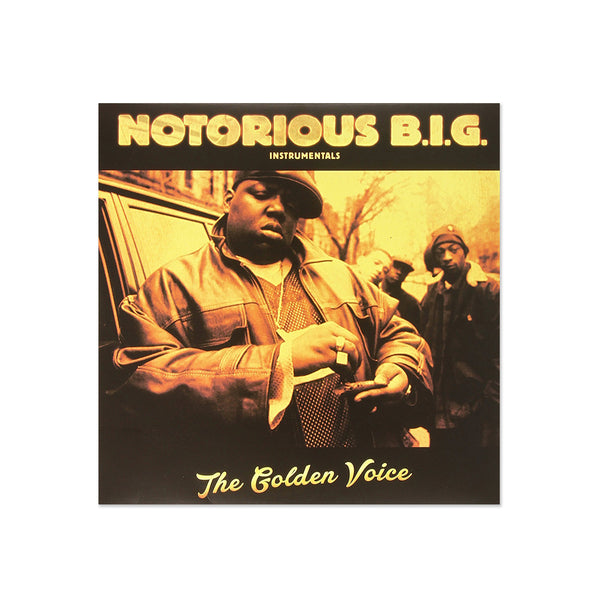 Notorious B.I.G. - The Golden Voice Instrumentals (LP)