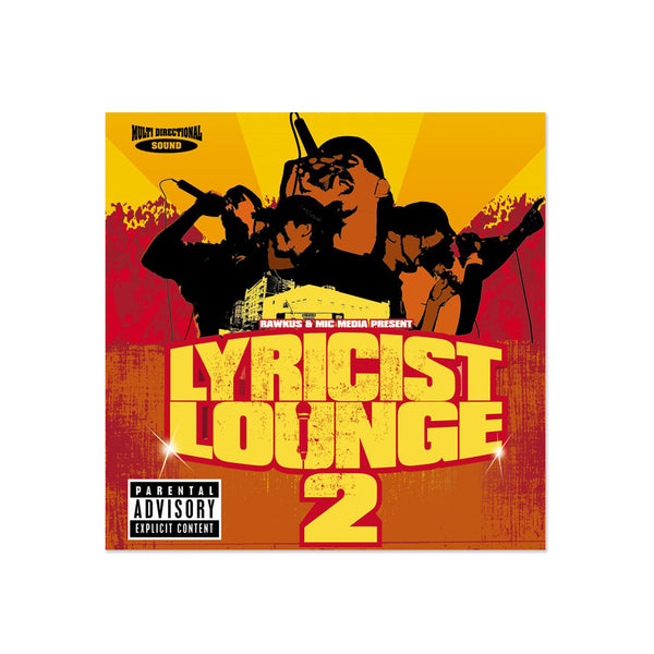 Lyricists Lounge - Instrumentals Vol. 2 (LP)