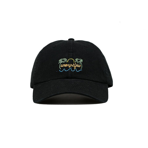 amongst few - Neon Sign Dad Cap (Black)