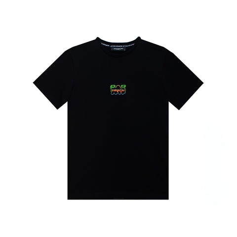 amongst few - Neon Sign T-Shirt (Black)