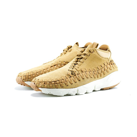 Nike - Air Footscape Woven Chukka (Flax/Flax-Sail-Gum Med Brown)