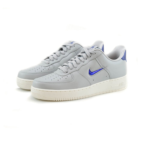 Nike - Air Force 1 '07 LV8 LTHR (Wolf Grey/Deep Royal Blue)