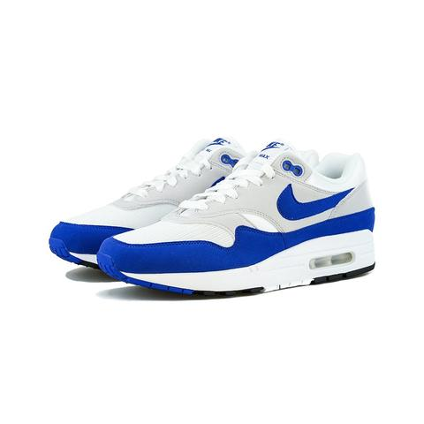 Nike - Air Max 1 Anniversary (White/Game Royal-Neutral Grey)