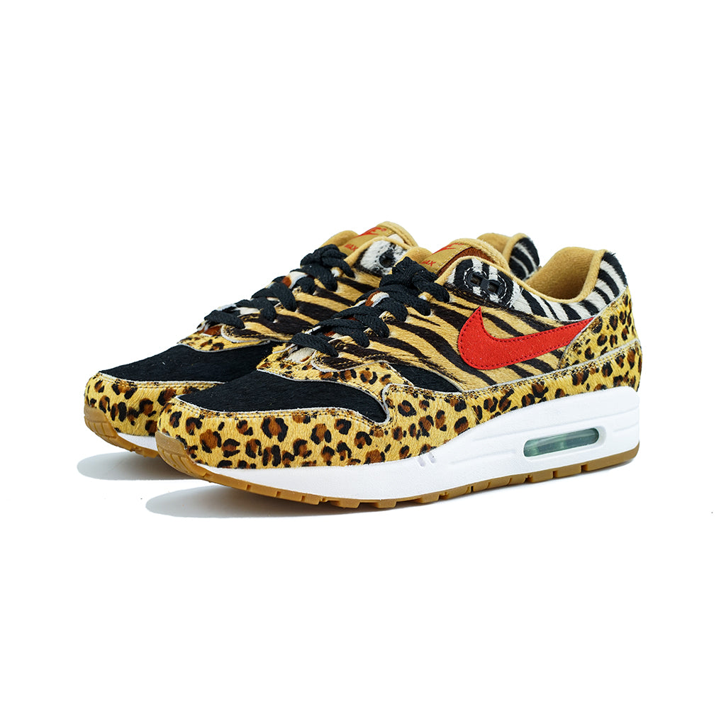 173fc7907800 Nike - Air Max 1 DLX  Atmos Animal Pack 2.0  (Wheat Sports Red-Bison B –  amongst few